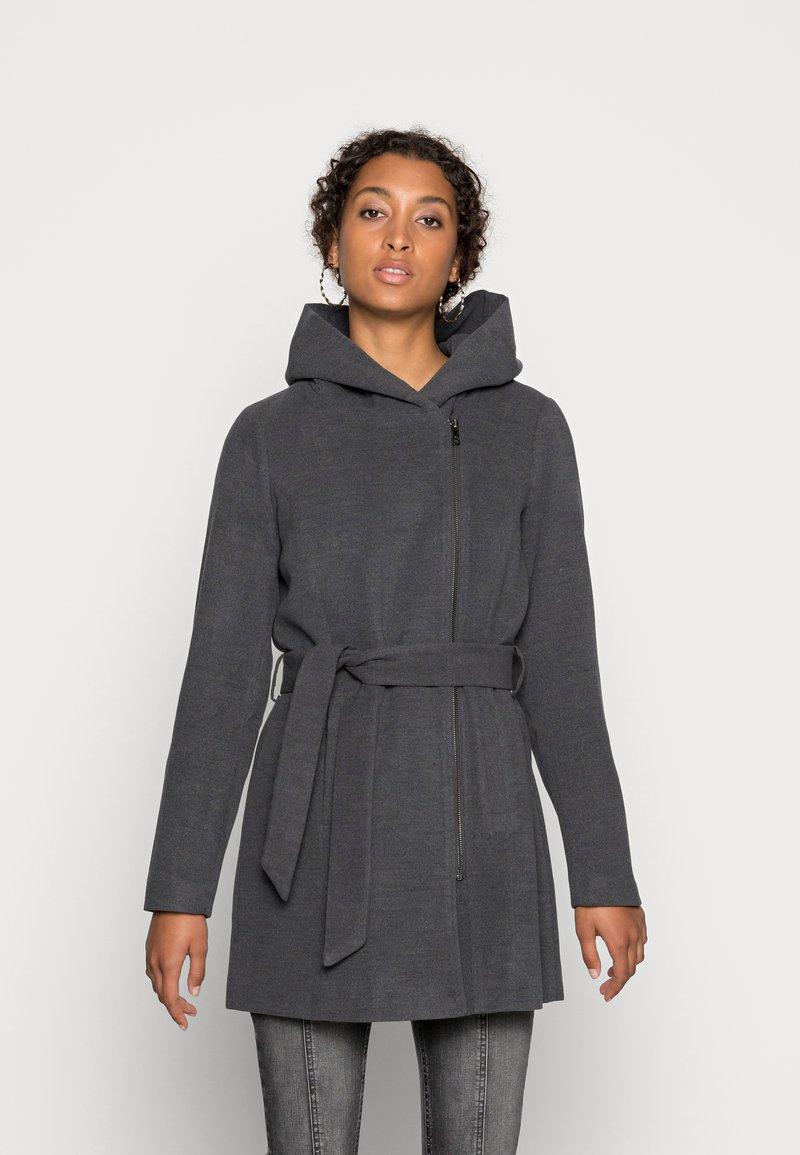 ONLY - ONLCANE COAT - Mantel - dark grey melange
