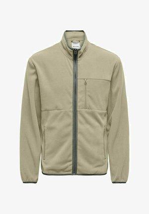 Fleece jacket - chinchilla