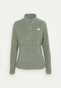 The North Face - GLACIER ZIP MONTEREY - Fleece jumper - agave green - 0