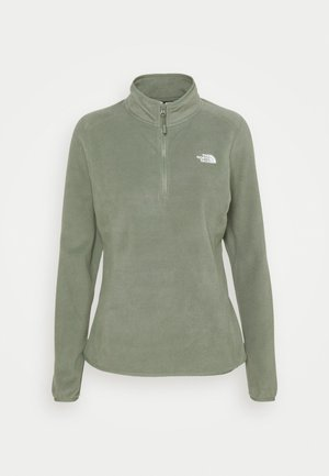 GLACIER 1/4 ZIP MONTEREY - Fleece jumper - agave green