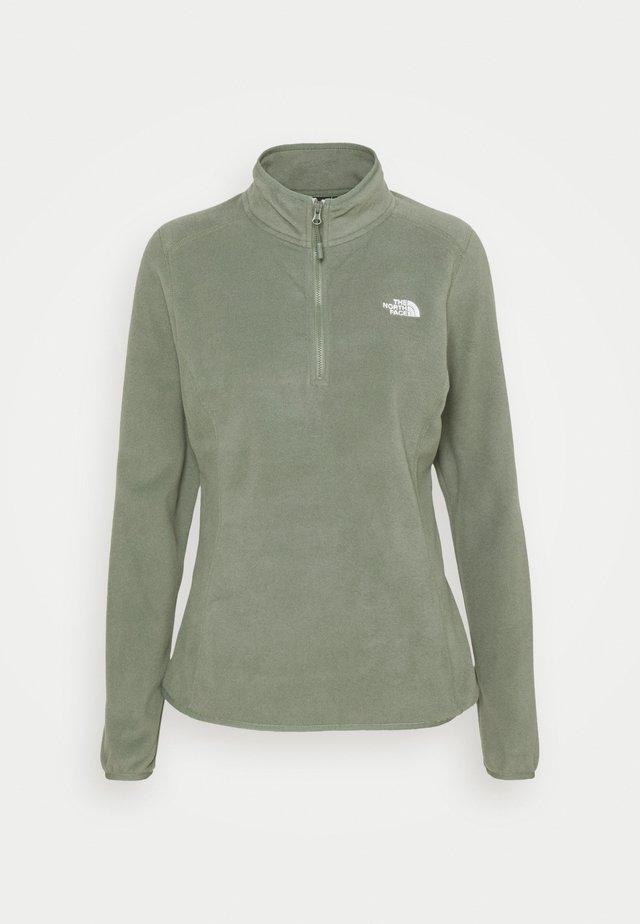 GLACIER 1/4 ZIP MONTEREY - Fleece jumper - agave green