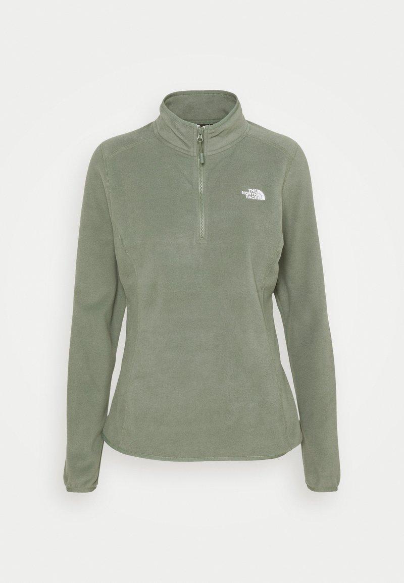 The North Face - GLACIER ZIP MONTEREY - Fleece jumper - agave green