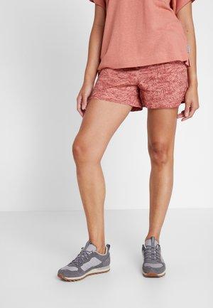 SUMMER CHILL SHORT - Sports shorts - cedar blush/wispy bamboos