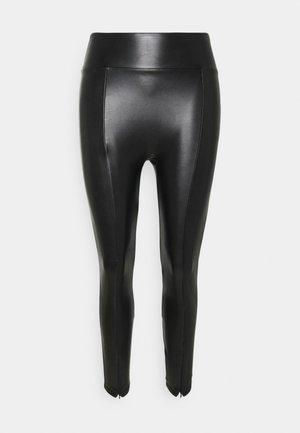 ZIP - Leggings - black