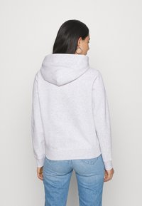 Tommy Jeans - ESSENTIAL LOGO HOODIE - Sweat à capuche - silver grey - 2