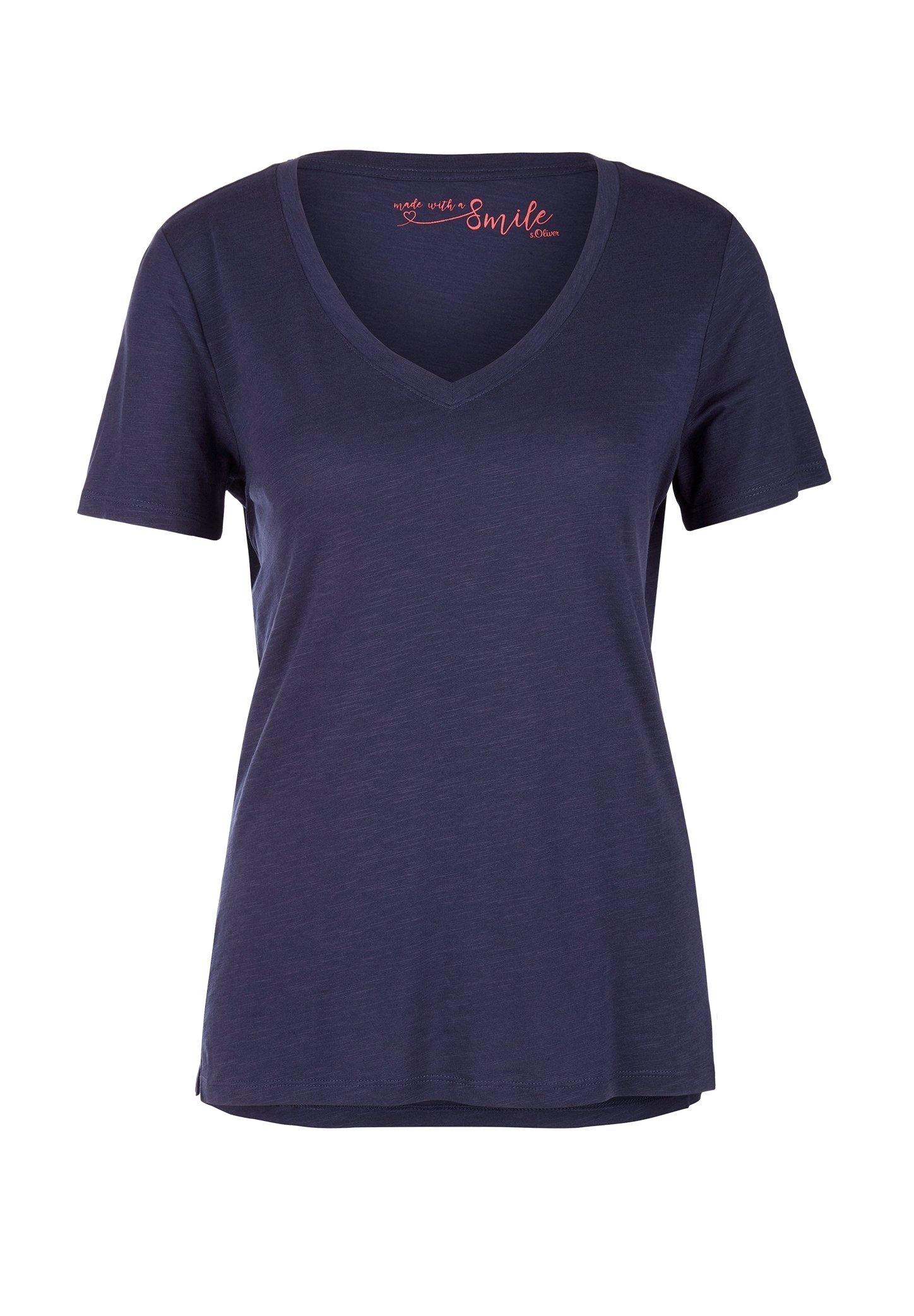 Damen MIT SLUB YARN-STRUKTUR - T-Shirt basic