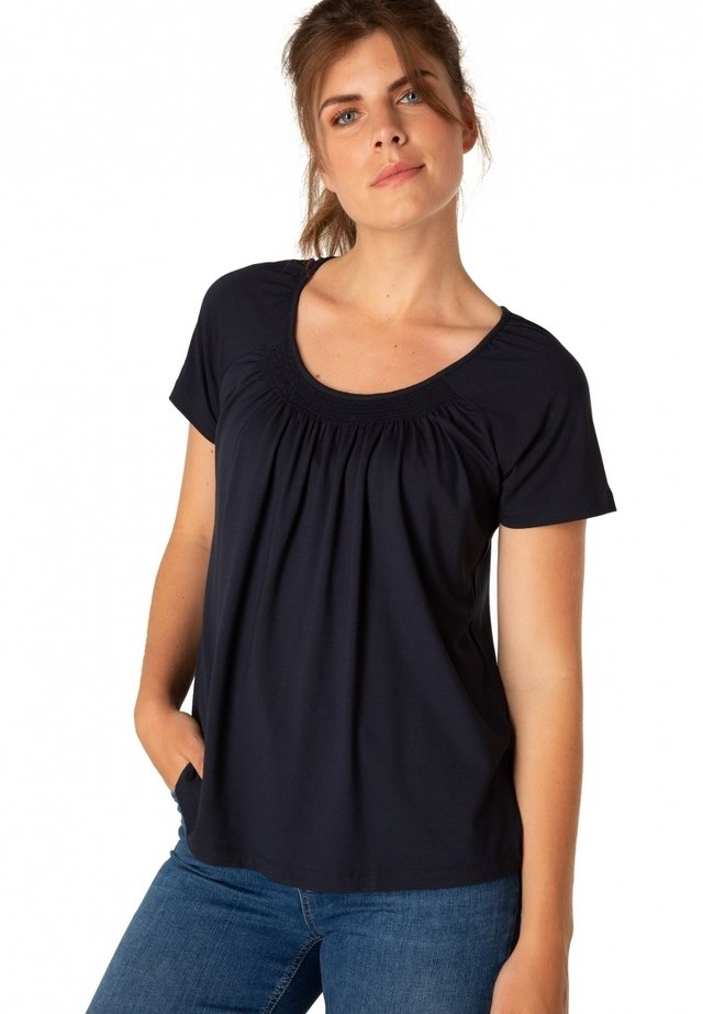 YOKI - T-shirt print - dark blue