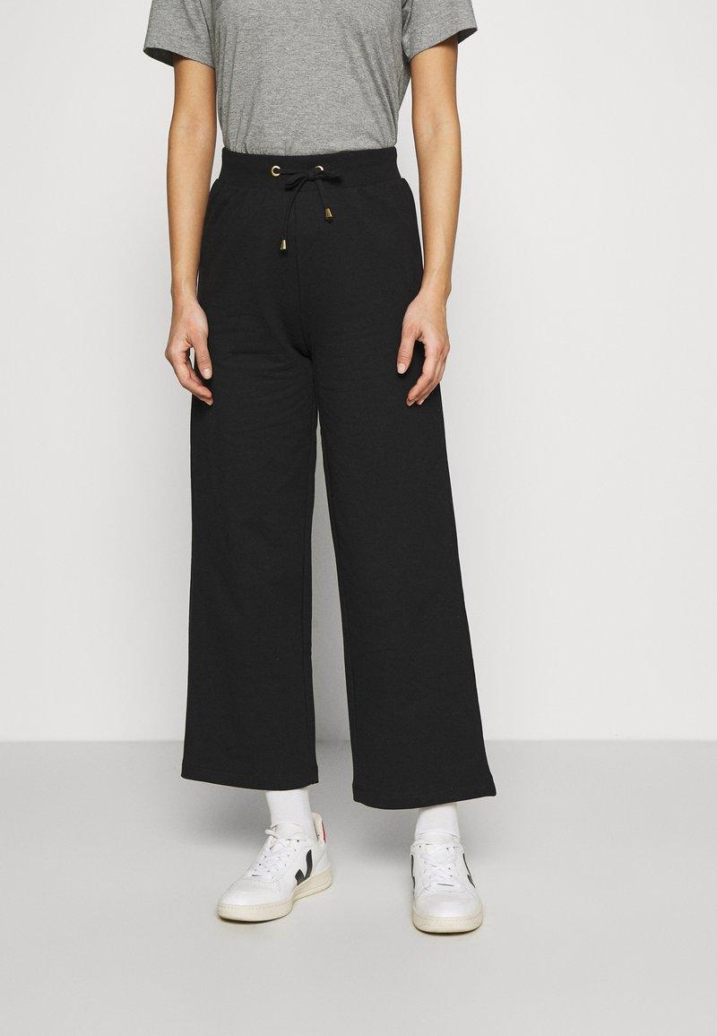 Anna Field - Straight Leg Basic Jogger - Pantaloni sportivi - black