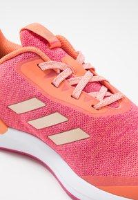 adidas Performance - RAPIDARUN X - Neutral running shoes - semi coral/copper metallic/real magenta - 2