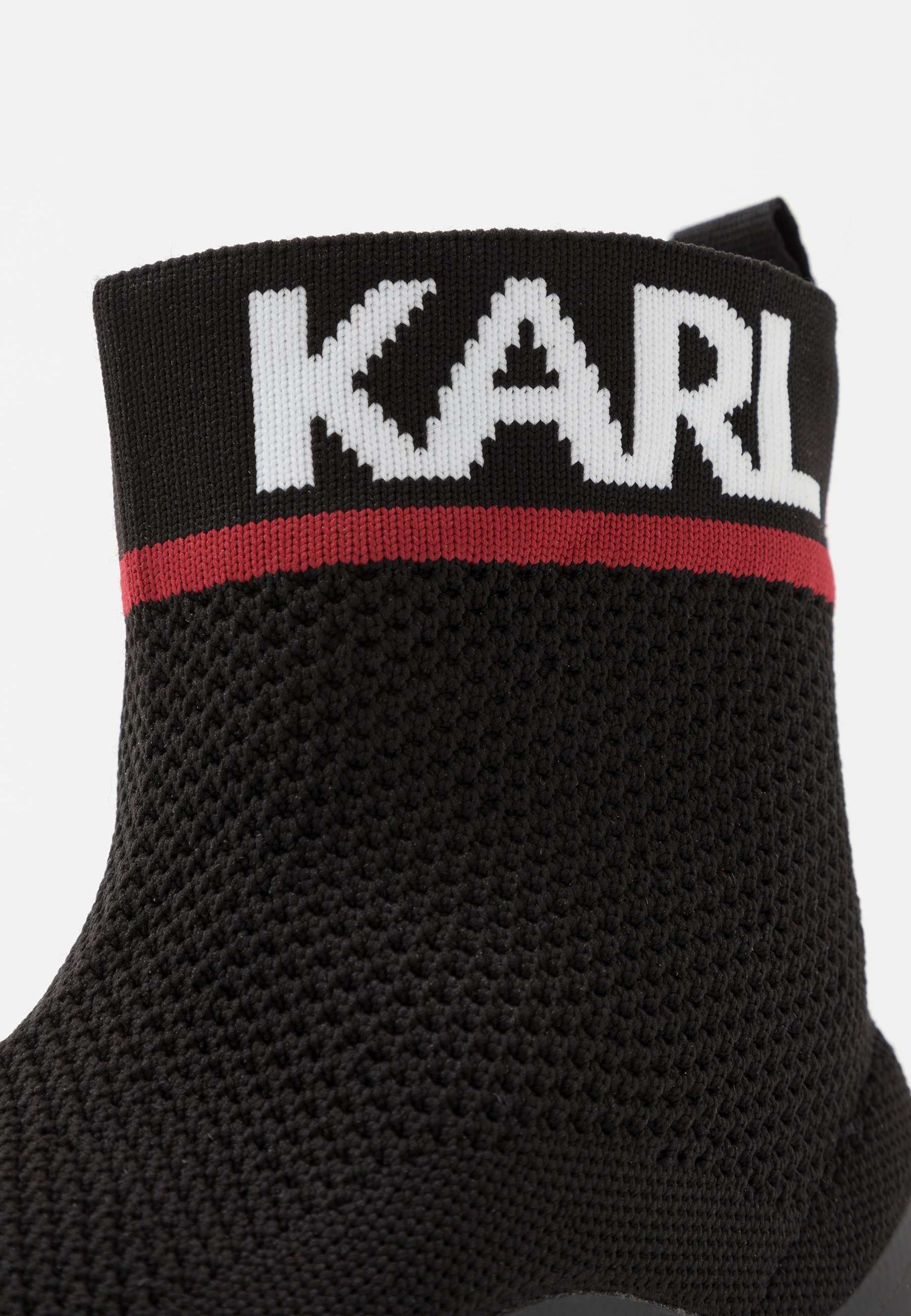 Karl Lagerfeld Verge Pull On Runner - Sneakers High Black