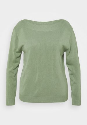 CARAMA BOATNECK - Jumper - hedge green