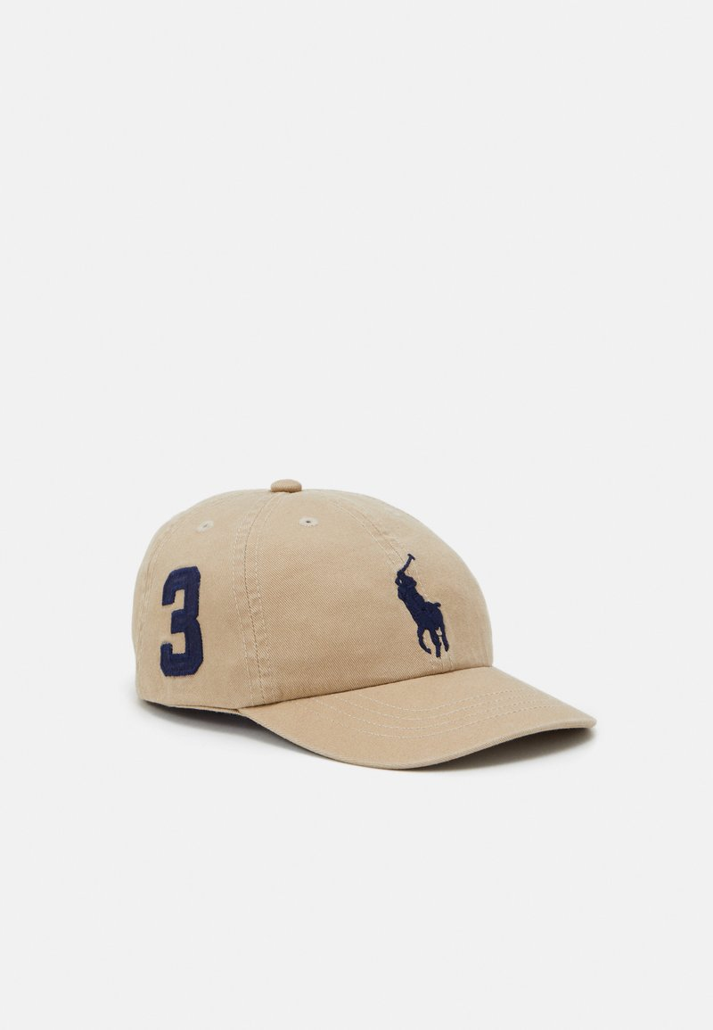 Polo Ralph Lauren - BIG APPAREL ACCESSORIES HAT UNISEX - Kšiltovka - classic khaki