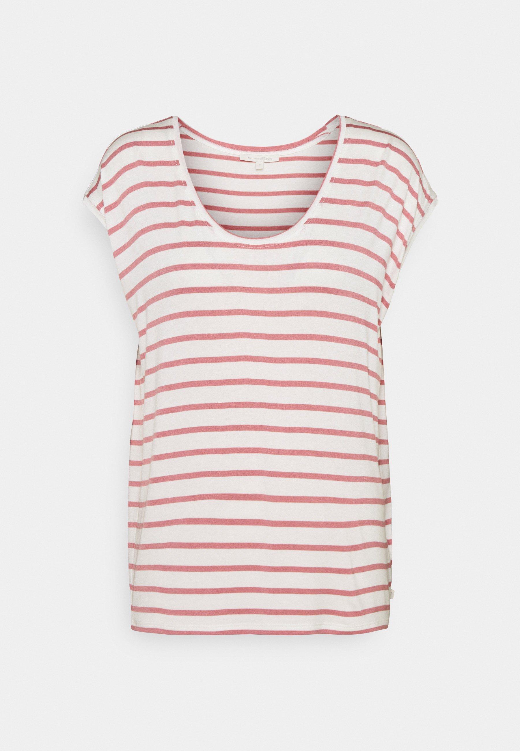 Damen STRIPED RELAXED TEE - T-Shirt print