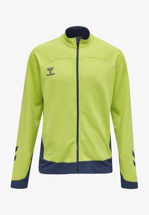 Training jacket - lime punch