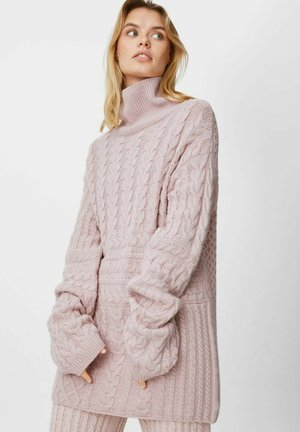 Sweter - pale pink