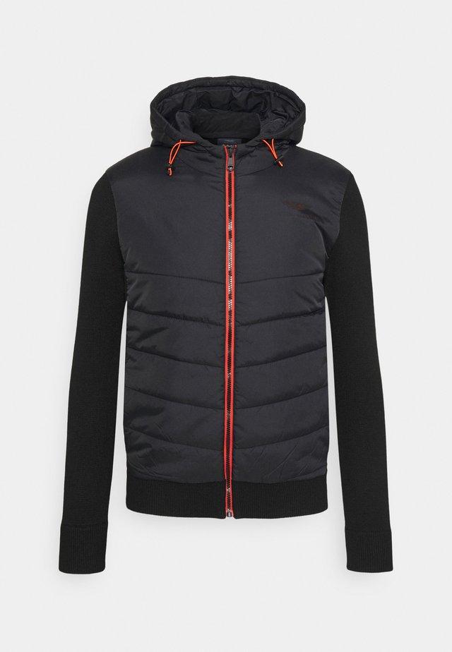 HYBRID HODDIE - Light jacket - black