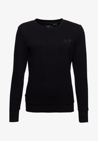 Superdry - ORANGE LABEL CREW  - Sweatshirt - black