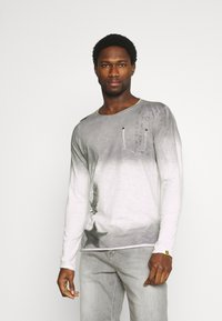 Key Largo - ENDEAVOUR ROUND - Long sleeved top - silver - 0