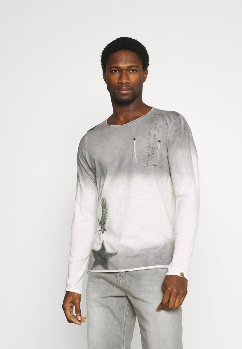 Key Largo - ENDEAVOUR ROUND - Long sleeved top - silver