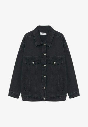 Denim jacket - black denim