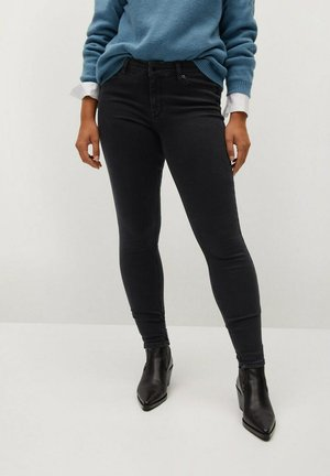 ANDREA - Slim fit jeans - black denim
