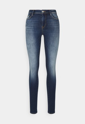 ONLSHAPE LIFE - Skinny džíny - dark blue denim