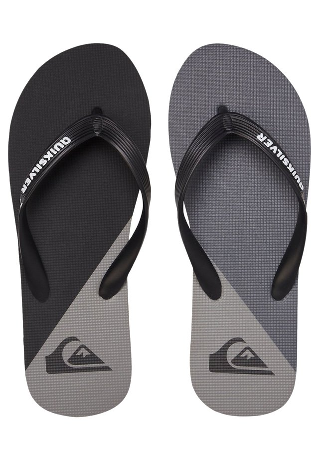 T-bar sandals - black/grey/black