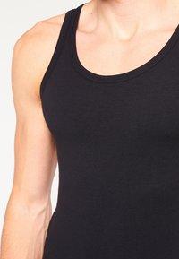 BOSS - SLIM FIT - Undershirt - black - 6
