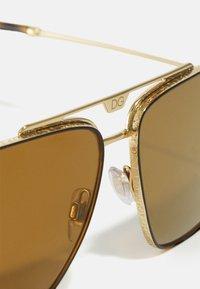 Dolce&Gabbana - Sunglasses - gold-coloured/brown - 4