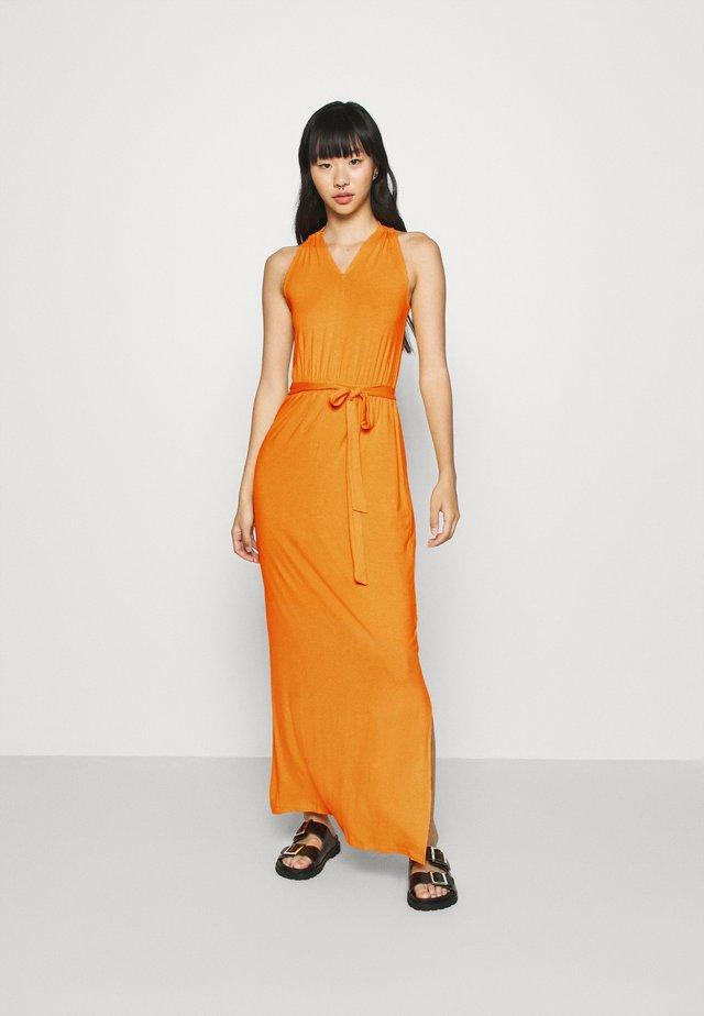 Vestido largo - kumquat