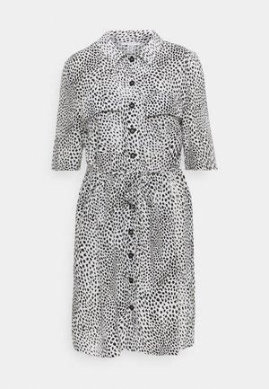 GRUNGE DRESS - Shirt dress - mono