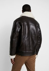 Schott - LCHAMPTON - Leather jacket - brown - 2