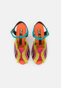 Kat Maconie - ARIEL - High heeled sandals - lagoon/multicolor - 5