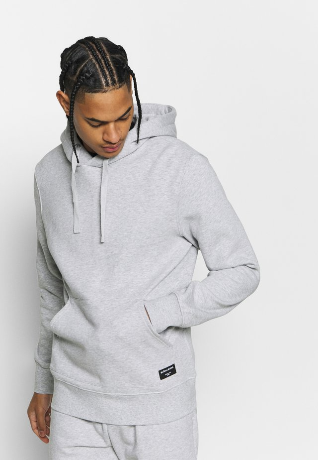 CENTRE HOOD - Hoodie - light grey melange