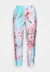9N1M SENSE - SPECIAL PIECES PANTS UNISEX - Kangashousut - blue/pink - 3