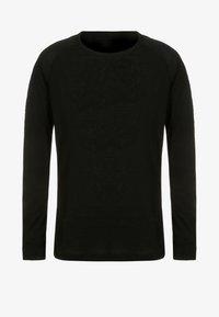 ODLO - CREW NECK WARM KIDS - Undershirt - black - 0