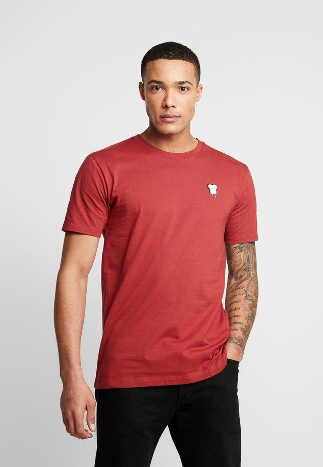 TOAST - T-shirt z nadrukiem - rosewood