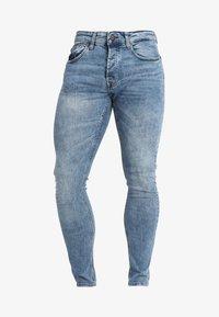 ONSSPUN WASHED - Slim fit jeans - blue denim