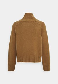 Marc O'Polo - LONGSLEEVE STAND UP - Jumper - brown - 1