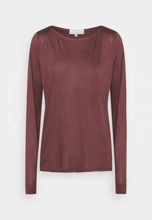 VIOLA - Long sleeved top - decadent chocolate