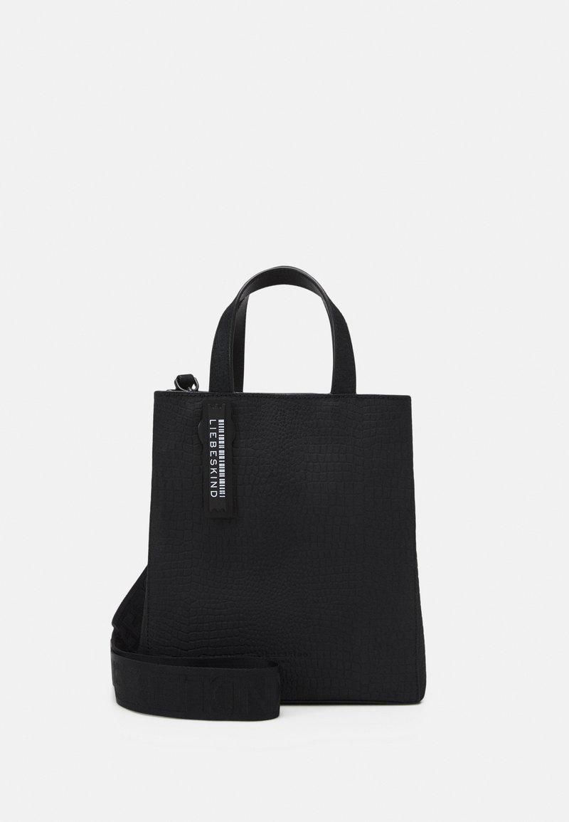 Liebeskind Berlin - PAPER BAG S - Handbag - black