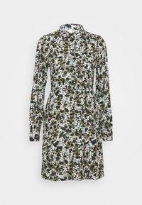 Pieces - PCFRIDINEN DRESS - Shirt dress - jadeite - 4