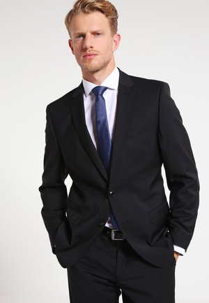SLIM FIT - Suit jacket - black