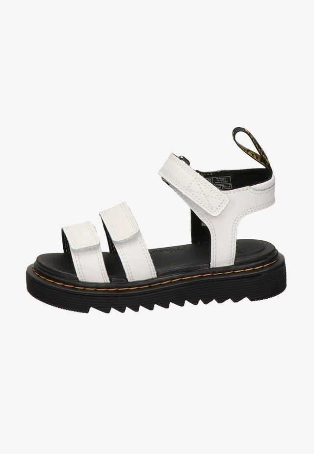 KLAIRE - Sandales de randonnée - white, black