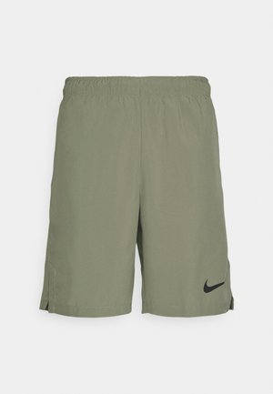 FLEX SHORT - Pantalón corto de deporte - light army/black
