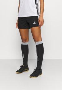 adidas Performance - SQUADRA - Träningsshorts - black/white - 0