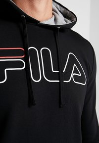 Fila - WILLIAM - Felpa con cappuccio - black - 6