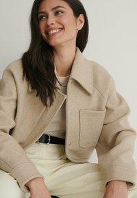 NA-KD - Light jacket - beige - 2