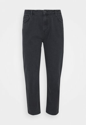 HIGH RISE TAPERED MOM - Relaxed fit jeans - black