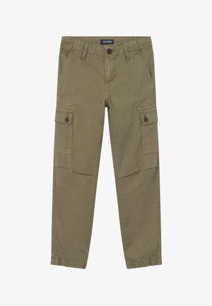 TEENS UTILITY - Cargo trousers - khaki